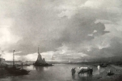 Andreas Achenbach - Paesaggio Olandese