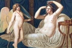 Luigi Ademollo - Toeletta di Venere. Olio su tela, 96 x 122 cm