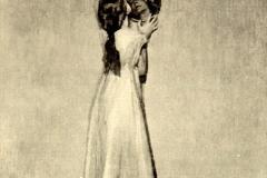 Giuseppe Amisani - La Piccola Attrice. Tecnica: Olio su Tela