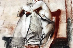 Pietro Annigoni - Donna Seduta