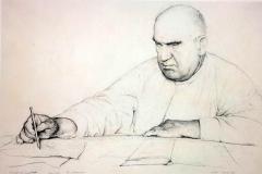 Pietro Annigoni - Ritratto di mio Padre