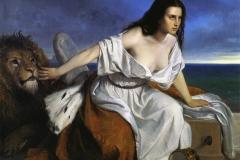 Andrea Appiani junior - Venezia che spera | Olio su tela. Milano, Museo del Risorgimento