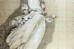 Appiani Andrea - Ebe. Matita su carta, 45 x 29,5 cm