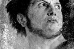 Appiani Andrea - Figura. Olio su tela, 59 x 44 cm