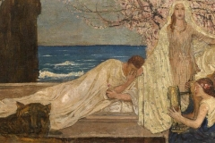 Bargellini Giulio - La primavera. Olio su tela