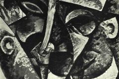 Umberto Boccioni - Dinamismo della Testa di una Donna