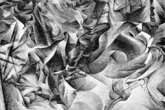 Umberto Boccioni. Elasticità - Tecnica: Olio su Tela