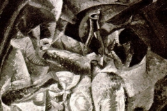 Umberto Boccioni. Pergolato - Tecnica: Olio su Tela