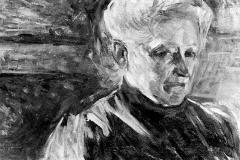 Umberto Boccioni. Ritratto della Madre- Tecnica: Olio su Tela, 52 x 35 cm
