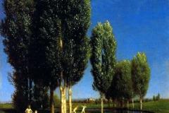 Arnold Böcklin - Giardino d'estate, 1881. Olio su tela, 61 x 50 cm