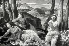 Felice Carena. Meriggio Estivo - Tecnica: Olio su Tela, 163 x 246 cm