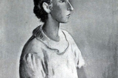 Felice Carena. Ritratto Femminile - Tecnica: Olio su Tela, 62 x 79 cm. Firma in basso a destra