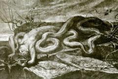 Melusina, illustrazione di Isaotta Guttadauro di D'Annunzio - Cellini Giuseppe