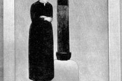 Galileo Chini. Il calvario - Tecnica: Olio su Tela