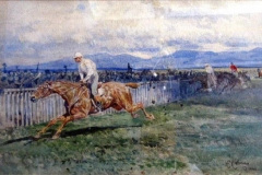 Corsa di cavalli a Capannelle - Coleman Enrico