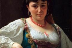 Venditrice siciliana di arance, 1870 - D'Ancona Vito