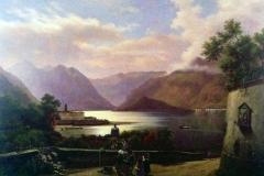 Veduta del lago di Como, ramo di Lecco - D'Azeglio Massimo