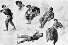 Studi di garibaldini - De Albertis Sebastiano