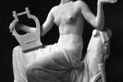 Ercole Drei. Saffo - Tecnica: Marmo