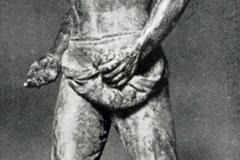 Ercole Drei. Seminatore - Tecnica: Bronzo