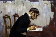 Giacomo Favretto - Lo Scrivano