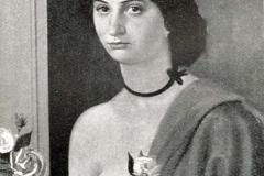 Achille Funi. Figura Femminile - Tecnica: Olio su Tela, 50 x 65 cm
