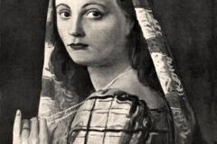 Achille Funi. Ritratto Femminile- Tecnica: Olio su Tela, 40 x 50 cm