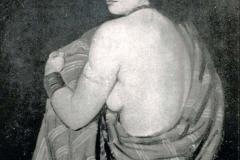 Achille Funi. Sposa Araba - Tecnica: Olio su Tela, 70 x 90 cm
