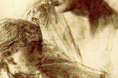 Pietro Gaudenzi. Verso il mistero - Tecnica: Disegno su Carta