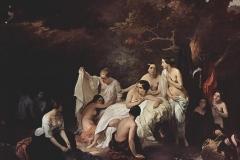 Il bagno delle ninfe, 1831 - Hayez Francesco