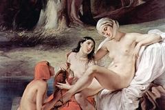 Betsabea al bagno, 1834 | Hayez Francesco