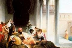 Nell'harem | Hayez Francesco