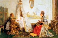 Amore di bimbo, 1871- Induno Gerolamo