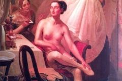 Angelo Inganni. La Danzatrice Maria Taglioni, 1841-43