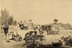 Pio Joris. Ricreazione in Giardino