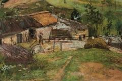 Ulvi LIegi. Paesaggio in Valsesia