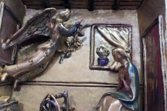 Pietro Melandri. Annunciazione (particolare) - Tecnica: Ceramica