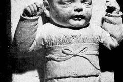 Pietro Melandri. Bambino - Tecnica: Ceramica