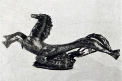 Pietro Melandri. Cavalluccio e Conchiglie - Tecnica: Ceramica