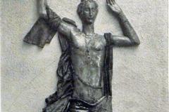 Pietro Melandri. Decorazione in Ceramica (particolare) - Tecnica: Ceramica