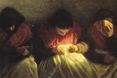Le Parche - Olio su tela 56 x 84,5 cm