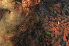 Plinio Nomellini. Nel Bosco - Tecnica: Olio su Tela, 74 x 60 cm. Firma in alto a destra