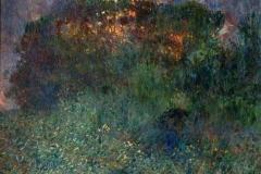 Plinio Nomellini. Paesaggio Boschivo - Tecnica: Olio su Tela, 75 x 91, 5 cm