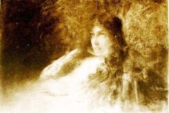 Alfredo Ricci | Donna Clara, Illustrazione di Isaotta Guttadauro
