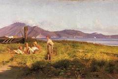 Federico Rossano   Al Mare, 1875