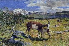 Giovanni Segantini. Alpe di Maggio, 1891 - Tecnica: Olio su tela