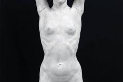 Attilio Selva. Primula, 1924 ca. - Tecnica: Scultura in Gesso, 110 x 34 x 21 cm