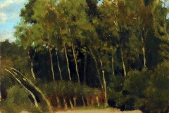 Raffaello Sernesi - Radura nel Bosco