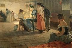 Telemaco Signorini. La toilette del mattino, 1898