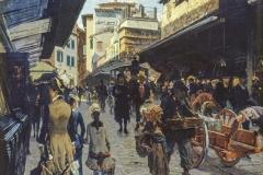 Telemaco Signorini. Ponte Vecchio a Firenze, 1878